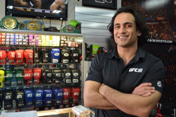 Cesar Lazcano, former World Wrestling Federation prospect, is assistant manager at UFC Gym, 4360 Blue Diamond Road. Ginger Meurer/Special to View