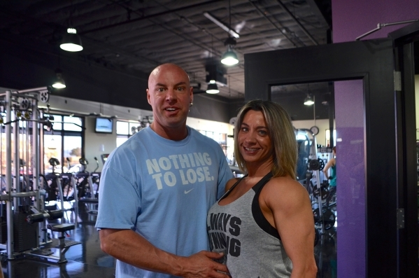 Chris and Shelly Yakimchuk opened YakþÄôs Fitness in a former Hollywood Video at 7375 S. Durango Drive.  Ginger Meurer/Special to View