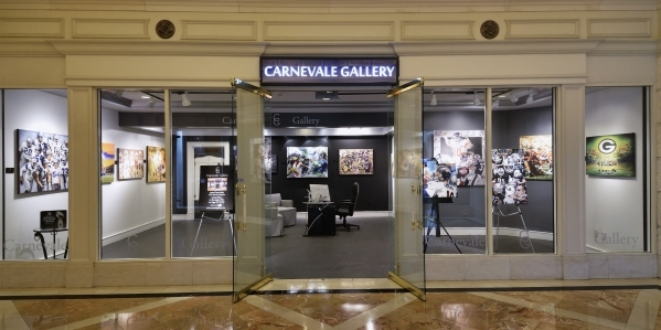 The exterior of the Carnevale Gallery is shown at the Caesars Palace hotel-casino at 3570 Las Vegas Blvd. South on Tuesday, Jan. 26, 2016. Bill Hughes/Las Vegas Review-Journal