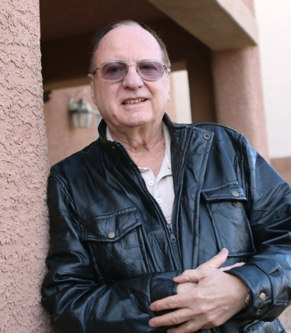 Michael Grubler poses at his Las Vegas home Monday, Jan. 25, 2016. Grubler alerted the VA to a problem in the way its phone system works for fielding calls from veterans contemplating suicide. Biz ...