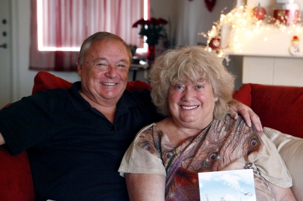 At their home in Las Vegas, Bruce and Jerry Cluff tell the story of how they met when she kept seeing the same white Chevrolet Impala stopping for her every time she crossed the street. Monday, Fe ...