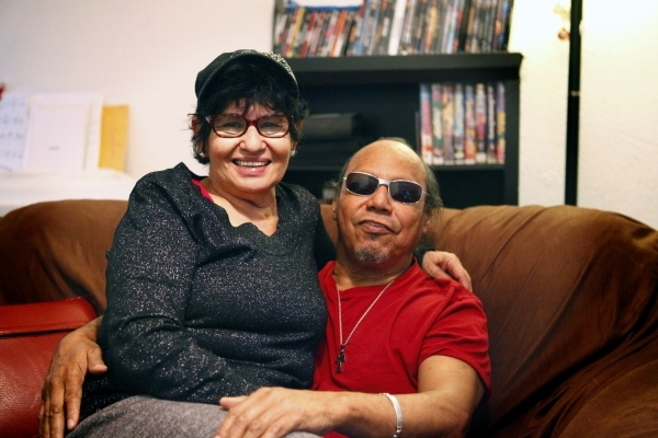 At their home in North Las Vegas, Sally Thomas and Robert Jimenez, who met when they attended Rancho High School, tell the story of how they ended up back together some 50 years later. Friday, Jan ...
