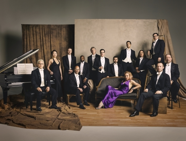 """The """"little orchestra"""" Pink Martini joins the Las Vegas Philharmonic Saturday for an evening of eclectic musicmaking. (Las Vegas Philharmonic)"""