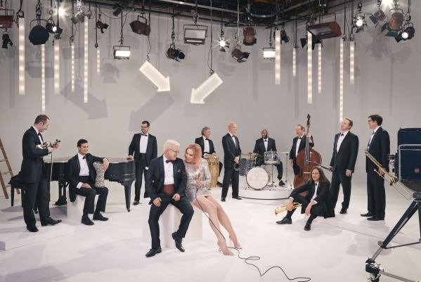 """The eclectic """"little orchestra"""" Pink Martini mixes it up with the Las Vegas Philharmonic Saturday night at The Smith Center. (Las Vegas Philharmonic)"""