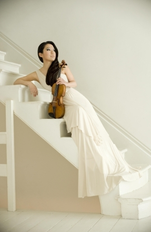 Violinist Sarah Chang, who last performed at UNLV in 2007, returns to Artemus Ham Hall for a Charles Vanda Master Series recital featuring Bartok, Brahms, Franck and Ravel. (Colin Bell/IMG Artists)