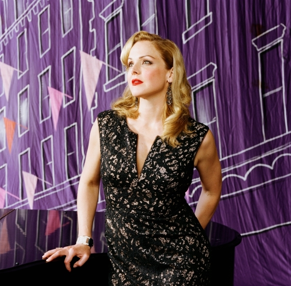 Singer Storm Large, who previously played The Smith Center's Cabaret Jazz, joins her Pink Martini bandmates Saturday for a concert with the Las Vegas Philharmonic. (Las Vegas Philharmonic)