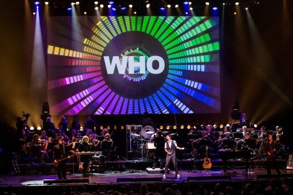 Symphonic Rock Show at The Smith Center For The Performing Arts in Las Vegas,  Aug. 24, 2012. (RD/ Kabik/ Retna Digital)