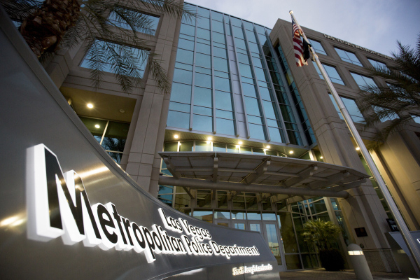 """The Las Vegas Metropolitan Police Department Headquarters is seen on Saturday, Jan. 30, 2016. Metro is creating a new """"one-stop shop"""" for those seeking help with domestic violence, sexua ..."""