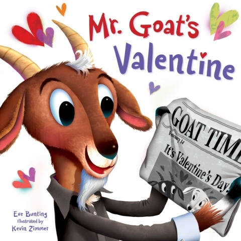 Book review: Kids will love gross gifts in 'Mr. Goat's Valentine'