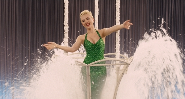 "Scarlett Johansson, as actress DeeAnna Moran, has a water extravaganza in ""Hail, Caesar!"" Four-time Oscar-winning filmmakers Joel and Ethan Coen produce and direct the all-star comedy se ..."