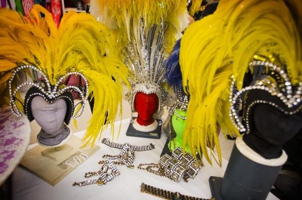 A selection of Jubilee headgear is seen at Bally's, 3645 South Las Vegas Boulevard, on Wednesday, Feb. 3, 2016. Jeff Scheid/Las Vegas Review-Journal Follow @jlscheid
