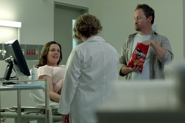 """This commercial titled """"Ultrasound"""" is among the three finalists this year in Doritos' consumer-submitted ad competition. The winner, decided by online voting, will air during Supe ..."""