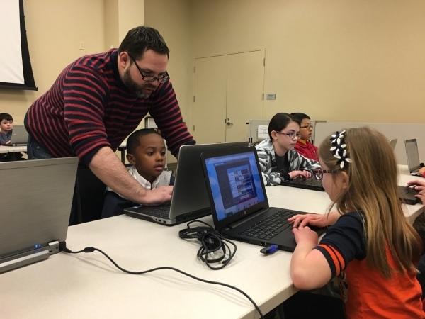 Handson Classes Let Kids Explore Video Game Design Las Vegas - Computer game design for kids