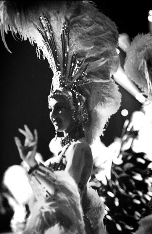 """A """"Jubilee!"""" dancer during a 2001 show at Bally's, 3645 Las Vegas Blvd. South. Jeff Scheid/Las Vegas Review-Journal Follow @jlscheid"""