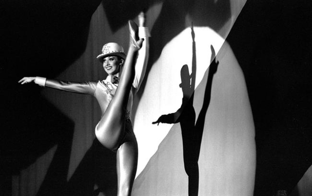 """A """"Jubilee!"""" dancer performs during a 2001 show at Bally's, 3645 Las Vegas Blvd. South. Jeff Scheid/Las Vegas Review-Journal Follow @jlscheid"""