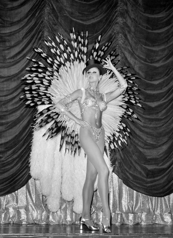 Showgirls pose during rehearsals for Jubilee Tuesday, Sept. 16, 1980, at the MGM Grand. Courtesy, Gary Angel/Las Vegas News Bureau