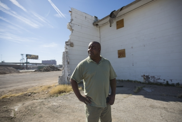 "Scott Johnson, president of Moulin Rouge Holdings LLC, looks around the site of the Moulin Rouge, the first desegregated casino in Las Vegas on Friday, Feb. 12, 2016. said, ""The biggest chall ..."