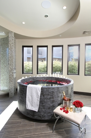 Creating the home spa las vegas review journal for Bathroom remodel henderson nv