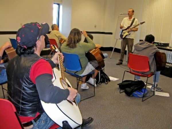 Free guitar lessons for beginners are planned from noon to 1 p.m. March 1 at the Sahara West Library. View file photo