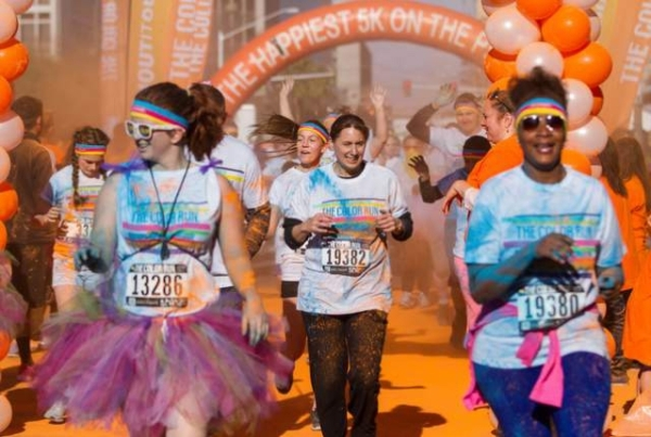 The fifth annual Color Run is scheduled for Feb, 27 in downtown Las Vegas, with a portion of the proceeds to benefit Three Square food bank. Special to View