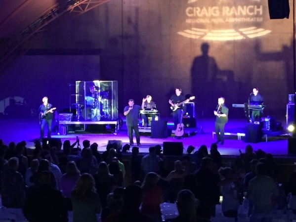 Sammy Kershaw performs at the amphitheater at Craig Ranch Regional Park, 628 W. Craig Road, as part of an inaugural performance series, Oct. 23, 2015. Special to View
