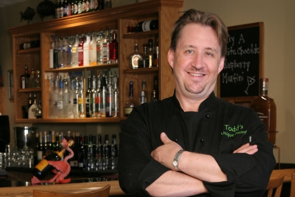 "Chef Todd Clure, owner of Todd's Unique Dining, likes to turn up the classic rock to ""get the energy going"" in the restaurant's kitchen. COURTESY PHOTO"