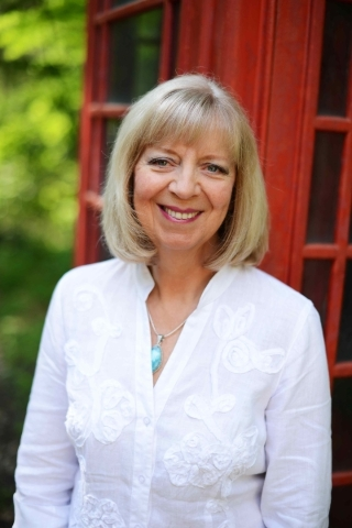 """Cheryl Blackford, author of """"Lizzie and the Lost Baby"""""""