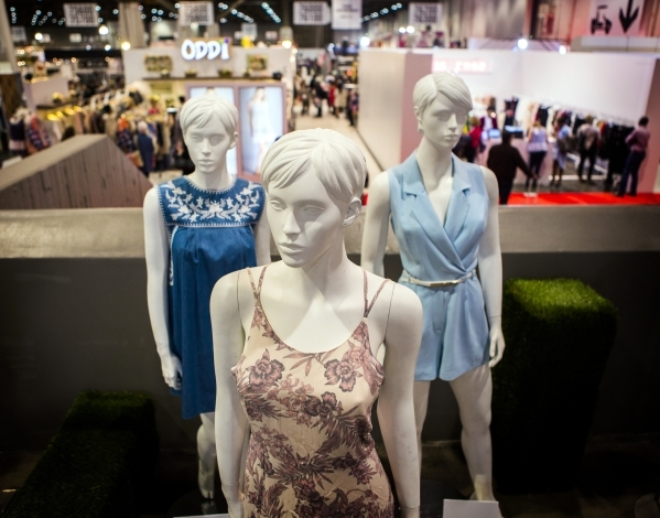 Mannequins as seen during the Men´s Apparel Guild in California show inside the Las Vegas Convention Center on Wednesday, Feb. 17, 2016. Jeff Scheid/Las Vegas Review-Journal Follow @jlscheid