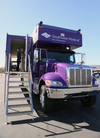 New mobile clinic will bring health care to patients | Las