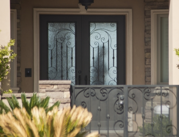 The home of Fredrick (Rick) J. Zaffarese-Leavitt in the 600 block of Du Fort Avenue in Henderson is seen during a FBI raid Thursday, Feb. 18, 2016. Leavitt has been financial management director o ...