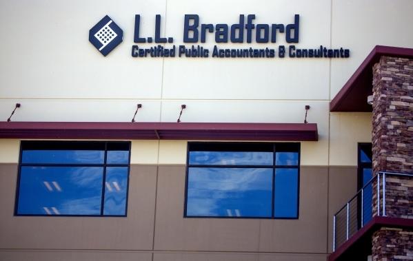 The L.L. Bradford and Company, 8880 Sunset Road, is seen Thursday, Feb. 18, 2016. Jeff Scheid/Las Vegas Review-Journal Follow @jlscheid