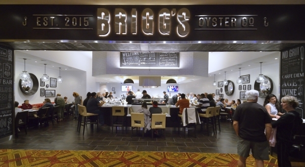 The exterior of BriggþÄôs Oyster Co. is shown in the Suncoast hotel-casino at 9090 Alta Drive in Las Vegas on Sunday, Feb. 21, 2016. Bill Hughes/Las Vegas Review-Journal
