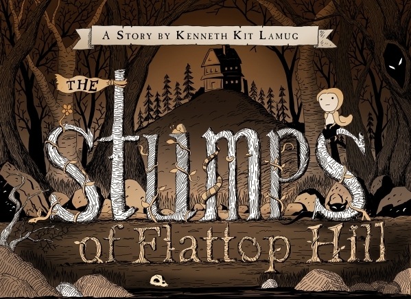 """Ken Lamug's pcture book """"The Stumps of Flattop Hill""""  will be on sale on March 16, but locals can see the wor in advance at the Whitney Library Gallery. (Special to View)"""