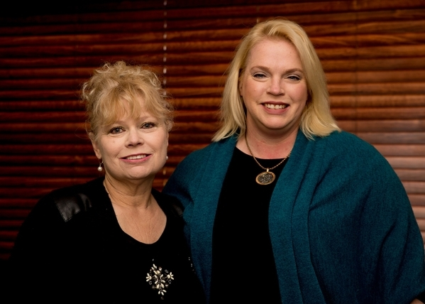 """Janelle Brown of TLC's reality show """"Sister Wives,"""" and real estate agent, Mona Riekki, broker salesperson and owner of TMI Realty in Henderson. TONYA HARVEY/RJREALESTATE.VEGAS"""