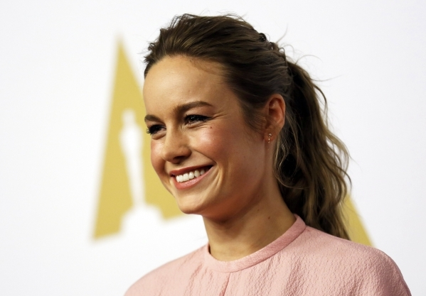 Actress Brie Larson arrives at the 88th Academy Awards nominees luncheon in Beverly Hills, California February 8, 2016.  REUTERS/Mario Anzuoni
