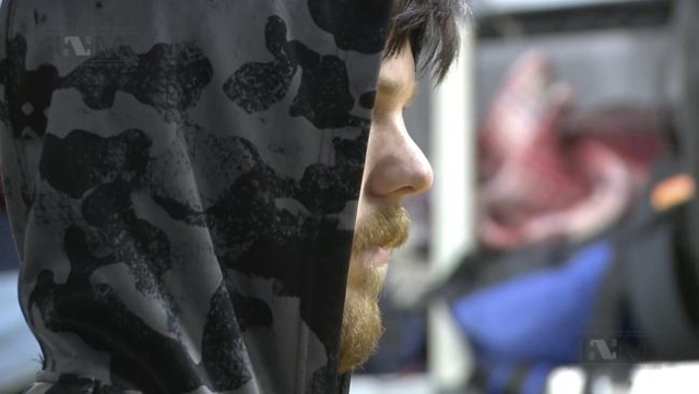 """Ethan Couch, known as the """"affluenza"""" teen after he killed four people in a drunk driving incident in 2013, is seen at Mexico's National Institute of Migration before being driven  ..."""