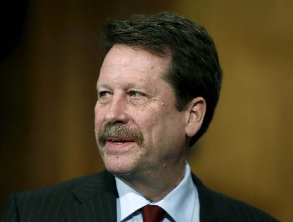 Food and Drug Administration Commissioner nominee Doctor Robert Califf testifies at his nomination hearing at the Senate Health, Education, Labor and Pensions Committee on Capitol Hill in Washingt ...