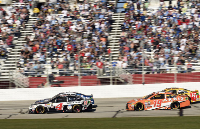 Johnson Prevails At Atlanta Las Vegas Race Next Las