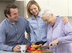 Real reasons why grandma won't eat - and how you can help improve her nutrition
