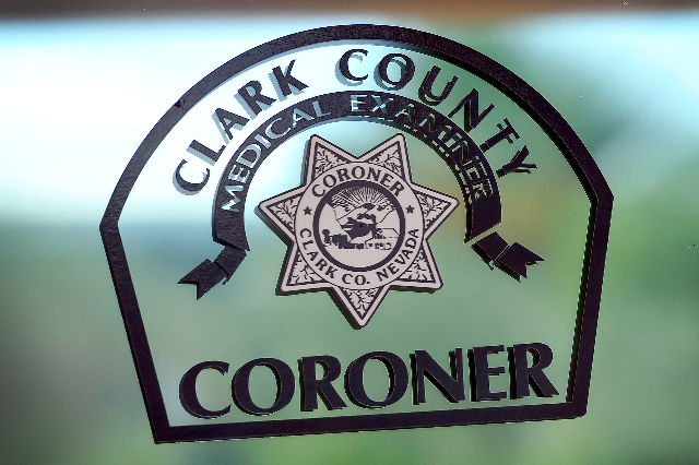 Clark County Coroner's Office (David Becker/Las Vegas Review-Journal File)