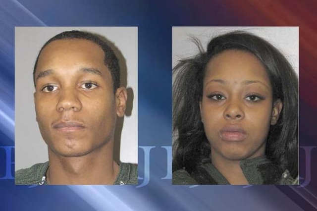 Deonte Coleman, 25, and Krystal Guice, 23, were arrested in a man's shooting death on Monday, Feb. 1, 2016, in Henderson. (Henderson Police Department)