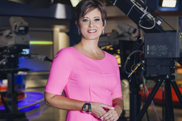 On April 4, Denise Valdez will move into the anchor chair for the 5, 6 and 11 p.m. newscasts on KLAS-TV, Channel 8. (KLAS-TV)