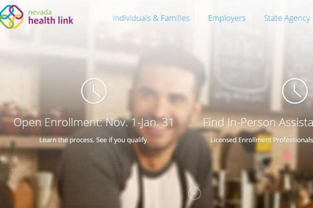 (Nevada Health Link website)
