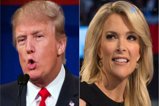 Donald Trump and Megyn Kelly (Inform)