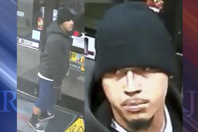 Las Vegas police are looking for a man in connection with a November armed robbery. (@LVMPD/Twitter)