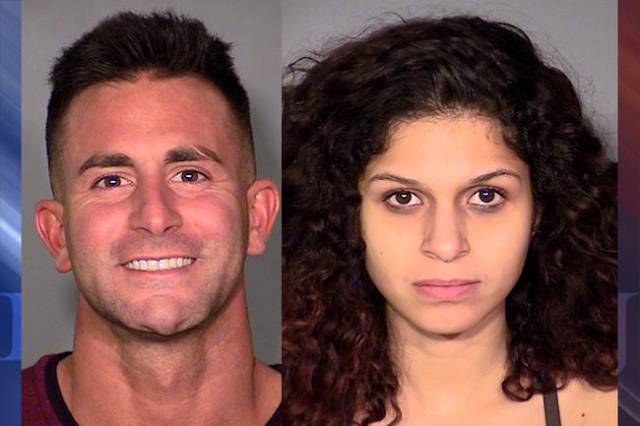 Philip Frank Panzica III and Chloe Scordianos (Las Vegas Metropolitan Police Dept.)
