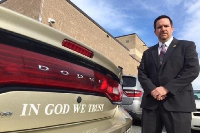 Rutherford County Sheriff Chris Francis. (CNN)