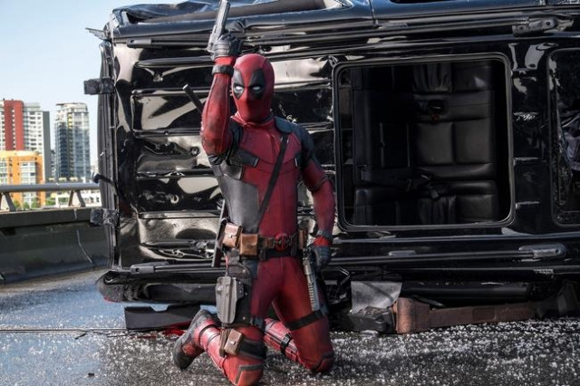 """""""Deadpool"""" had the biggest opening ever for an R-rated film this weekend, hauling in an estimated $135 million at the domestic box office. (CNN)"""