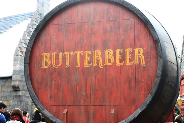 Photo of Oak Barrel Containing Butterbeer (Thinkstock)