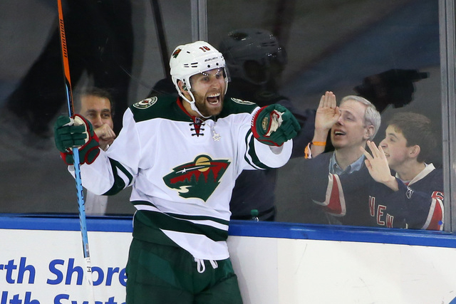 Las Vegas Jason Zucker Ready To Return To Ice After Up And Down